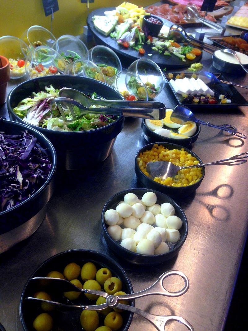 Einzigartiges und überragendes Frühstück im B Hotel in Barcelona