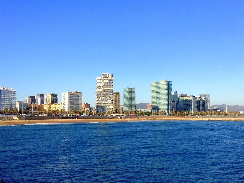 Die attraktiven Stadtstrände von Barcelona