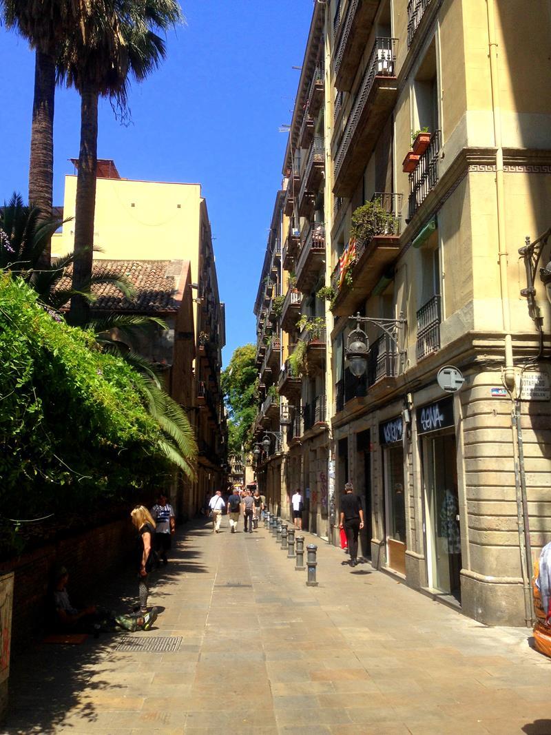 Ciutat Vella in Barcelona, ein Stadtteil nahe des Barrios Goticos