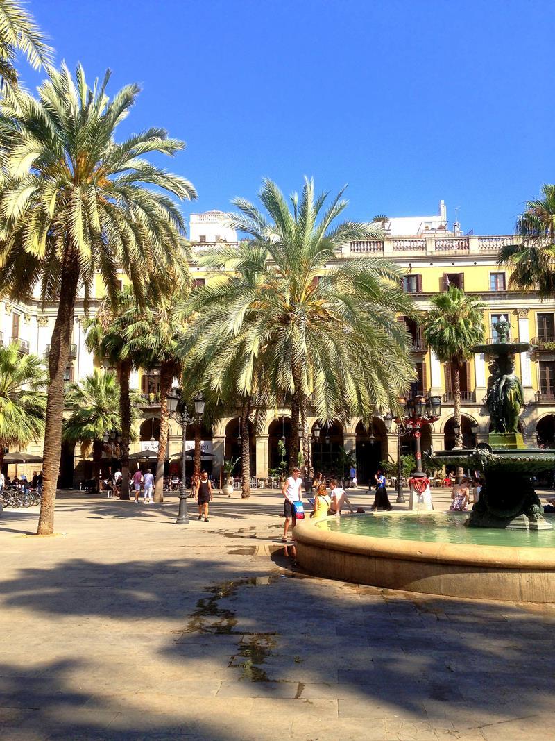 Das Barrio Gotico, die Altstadt von Barcelona