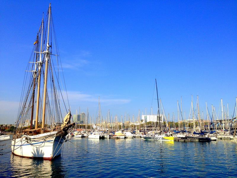 Die Marina von Barcelona