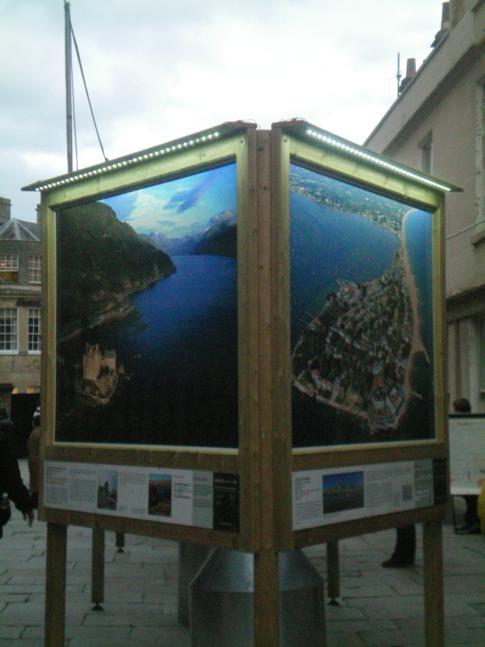 """Die tolle Ausstellung """"Britain from the Air"""""""