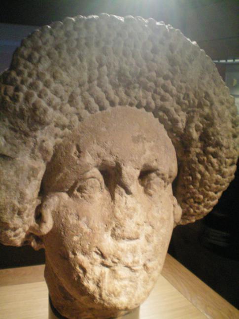 Ausgrabungsfundstücke im Roman Bath