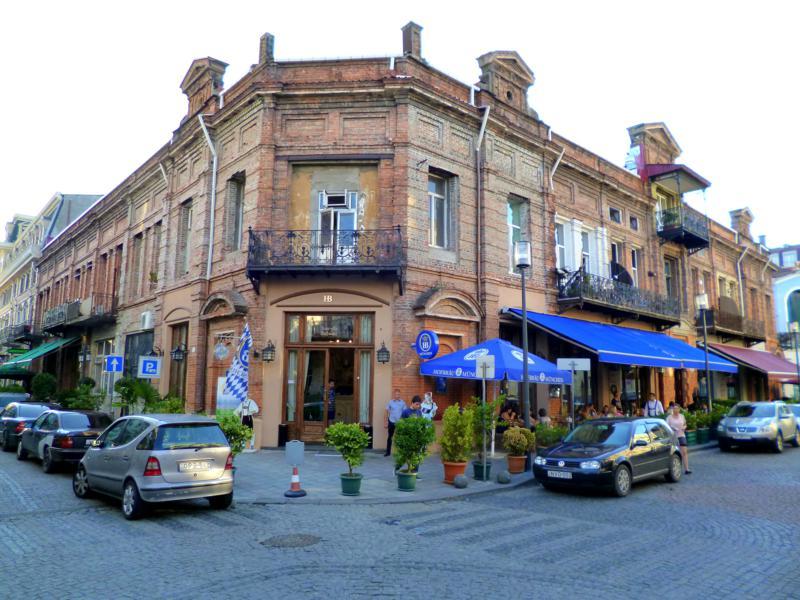 Die mehr oder weniger historische Altstadt von Batumi am Schwarzen Meer