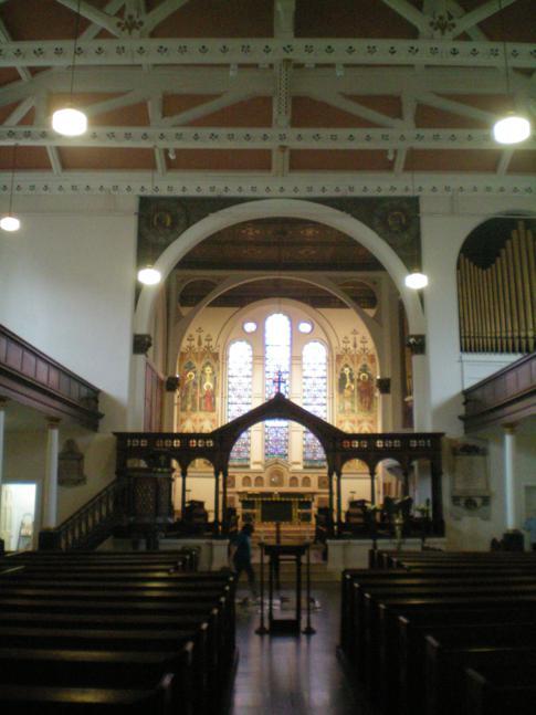 Die St. Georges Parish Church im Zentrum von Belfast