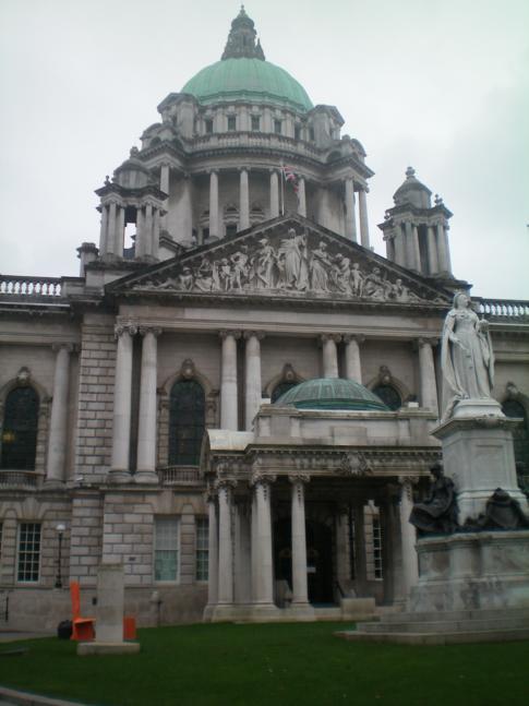 Die City Hall in Belfast (Rathaus der nordirischen Hauptstadt)