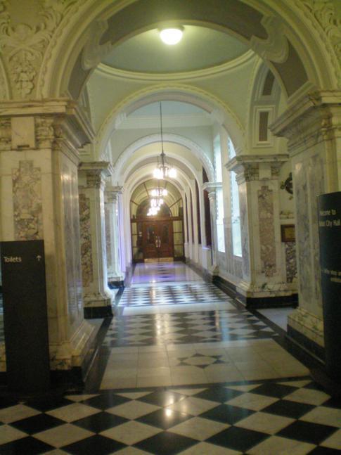 Das sehr edel wirkende Rathaus von Belfast
