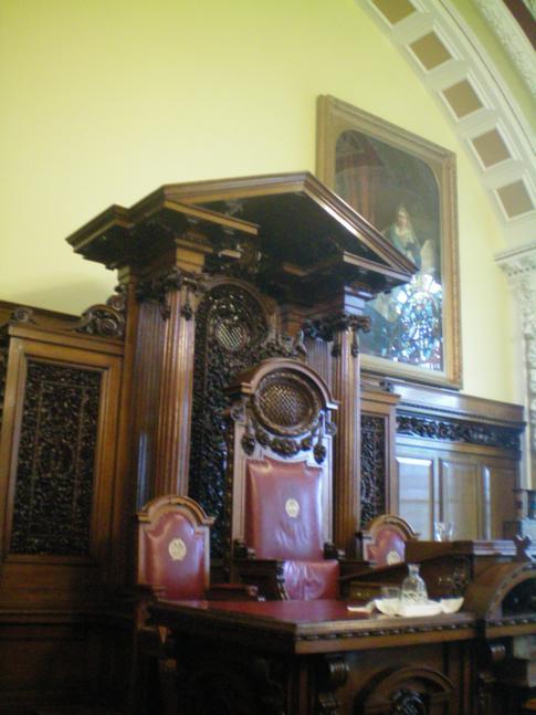 Der Regierungssitz des Bürgermeisters in der Belfast City Hall
