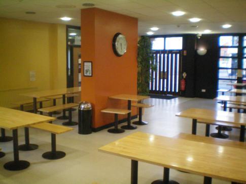 Speiseraum im Belfast International Youth Hostel