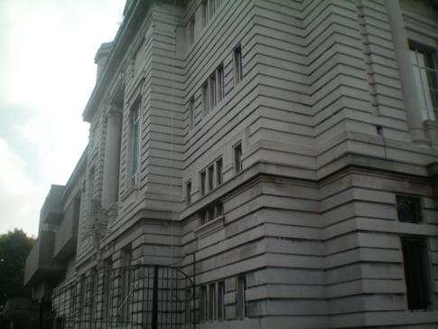Das Gebäude des Ulster Museum in Belfast