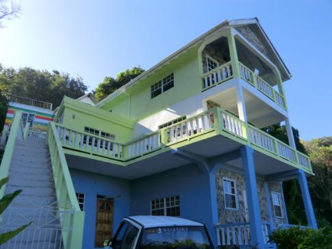 Rainbow Castle in Bequia