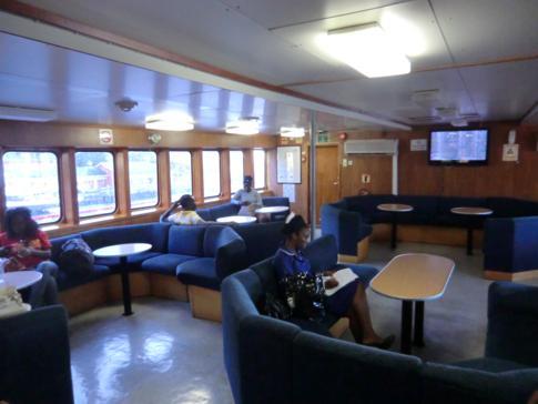 Die Bequia Express Fähre von Kingstown (St. Vincent) nach Port Elizabeth (Bequia)