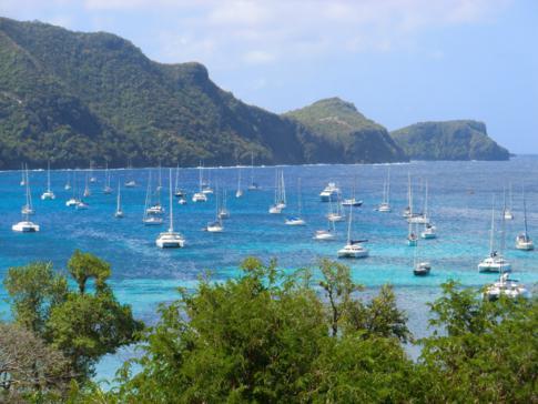 Blick auf die Admiralty Bay