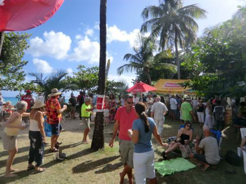 Das Bequia Blues Festival im Bequia Beach Hotel