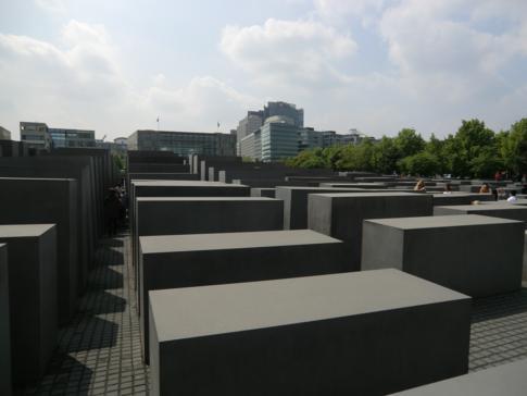 Das Holocaust-Mahnmal im Zentrum Berlins