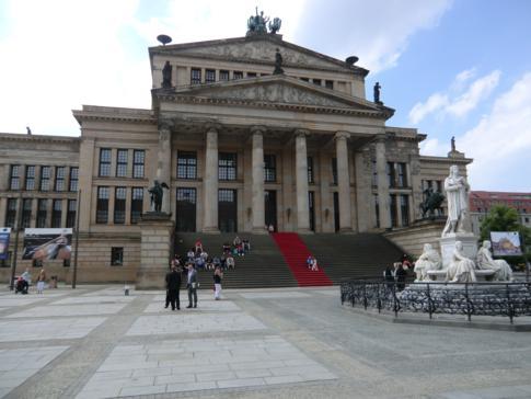 Das Konzerthaus auf dem Gendarmenmarkt
