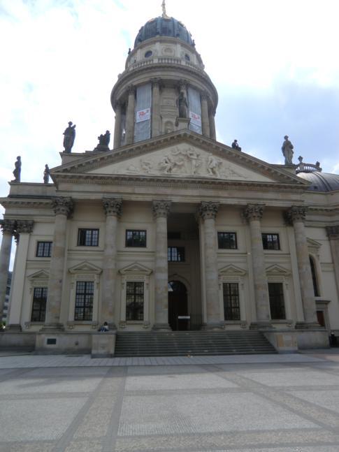 Der Deutsche Dom auf dem Gendarmenmarkt