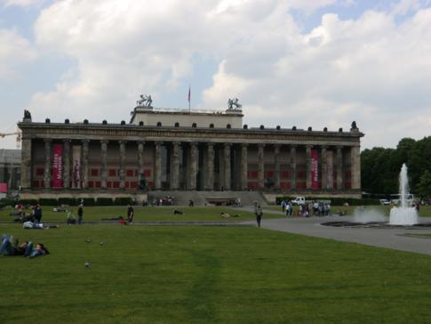 Das Alte Museum auf der Museumsinsel Berlin