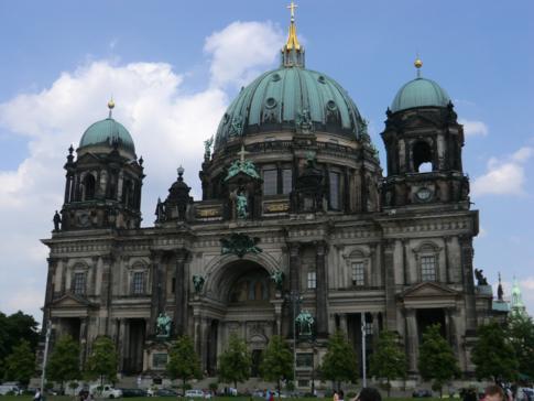 Die Domkirche zu Berlin auf der Museumsinsel