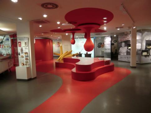 Einblick in das Berliner Currywurstmuseum