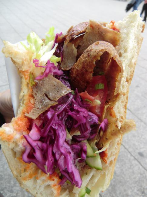 Neben der Currywurst das Berliner Schnellgericht schlechthin: der Döner