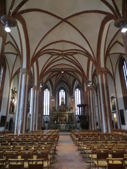 Die St. Nikolaikirche in Berlin-Spandau