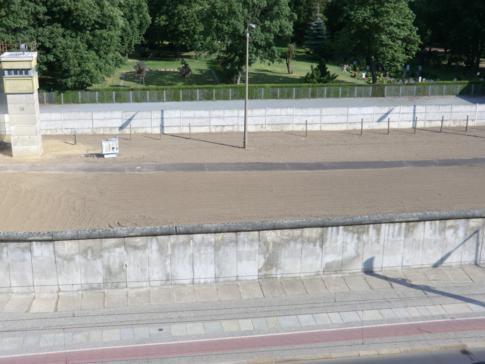 Die Gedenkstätte Berliner Mauer an der Bernauer Straße