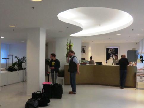 Die Lobby des Hotel Ellington