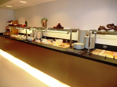 Das Frühstücksbuffet im Hotel Ellington in Berlin