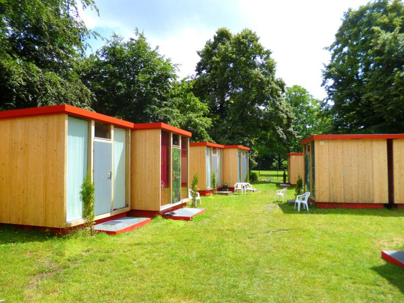Scube Park Columbia Berlin (Easy Lodges Berlin) – Die Übernachtung im Würfel