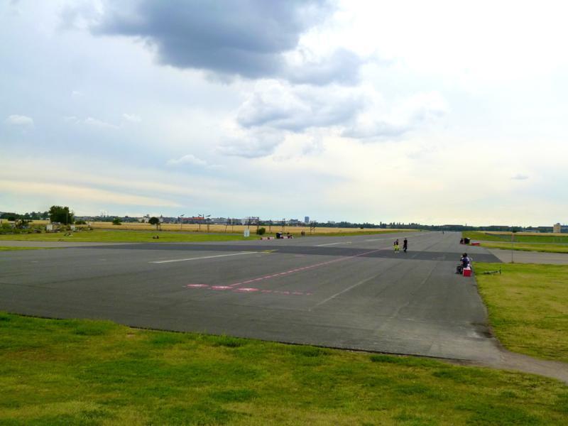 Der ehemalige Flughafen Tempelhof ist heute ein schöner Park