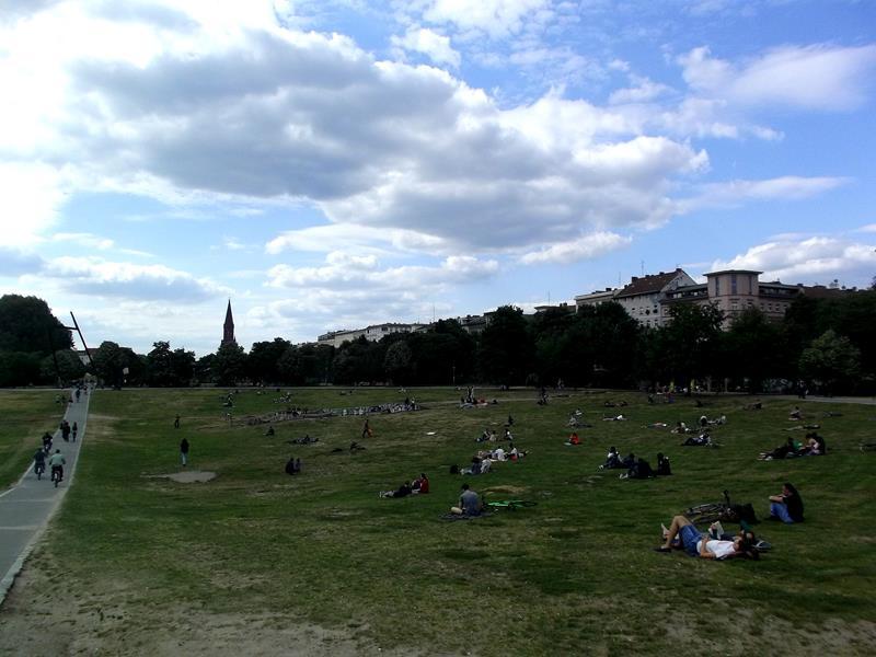 Der Görlitzer Park in Berlin-Kreuzberg