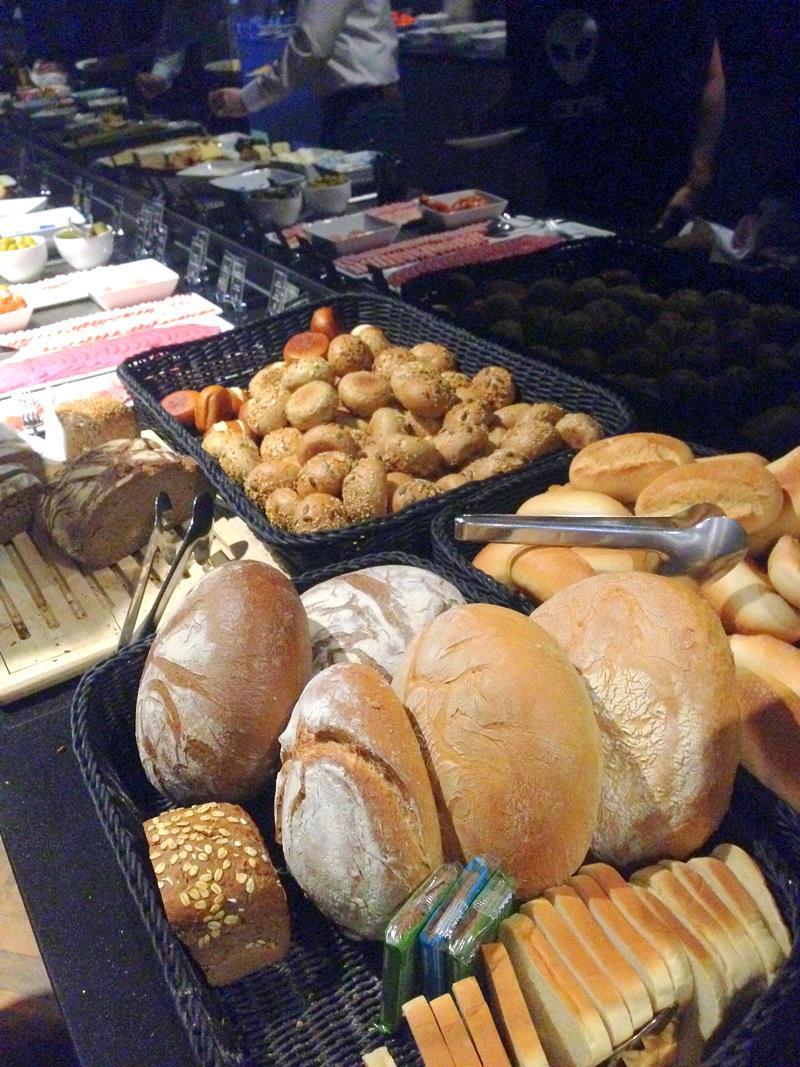 Leckeres Frühstück im Amano Grand Central in Berlin