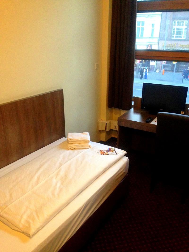 Einzelzimmer im Novum Hotel City B Berlin Centrum