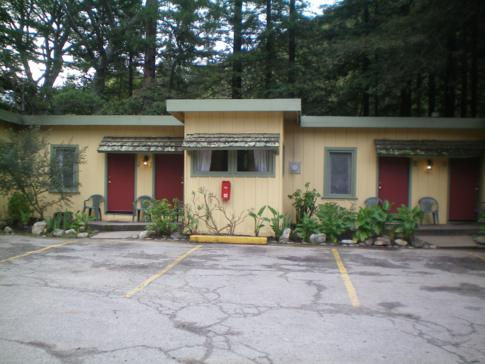 Das Fernwood Motel in Big Sur
