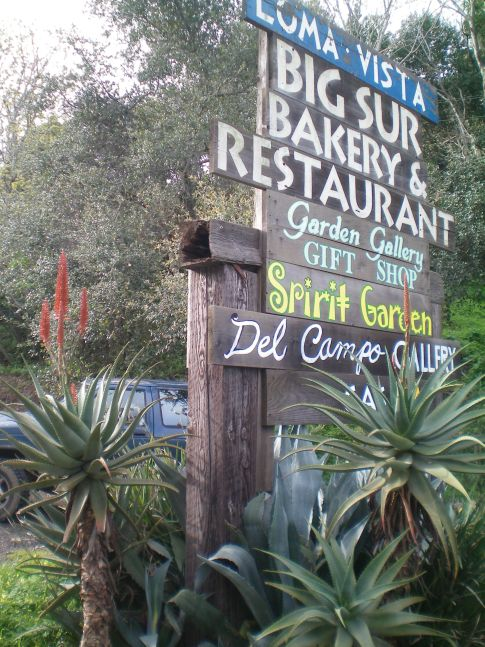 Die Big Sur Bakery direkt am Highway No. 1