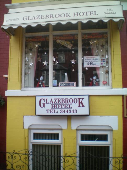Außenansicht des Glazebrook Hotel in Blackpool