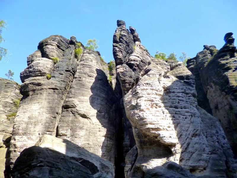 Tyssaer Wände - ein schönes Ausflugsziel in der Böhmischen Schweiz