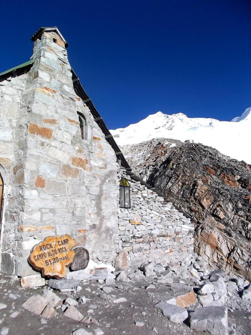 Weiteres Camp auf 5.130 Meter Höhe