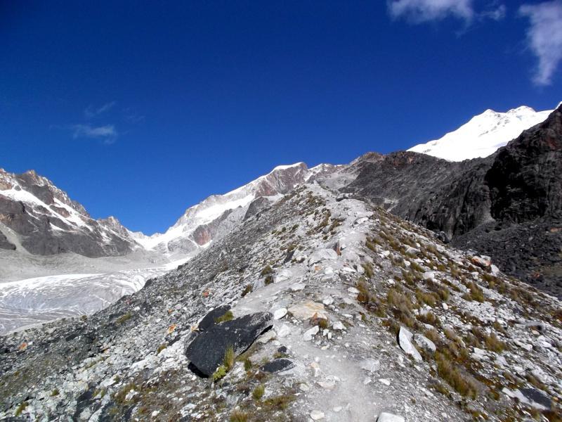 Der Weg zum Huayna Potosi