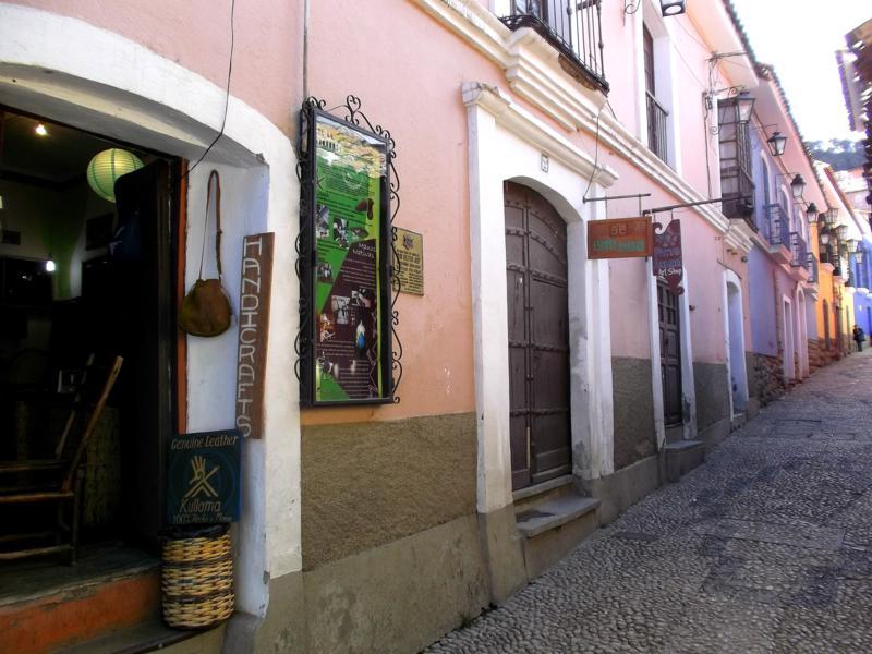 Die Calle Jaen, eine der wenigen historischen Straßenzüge von La Paz