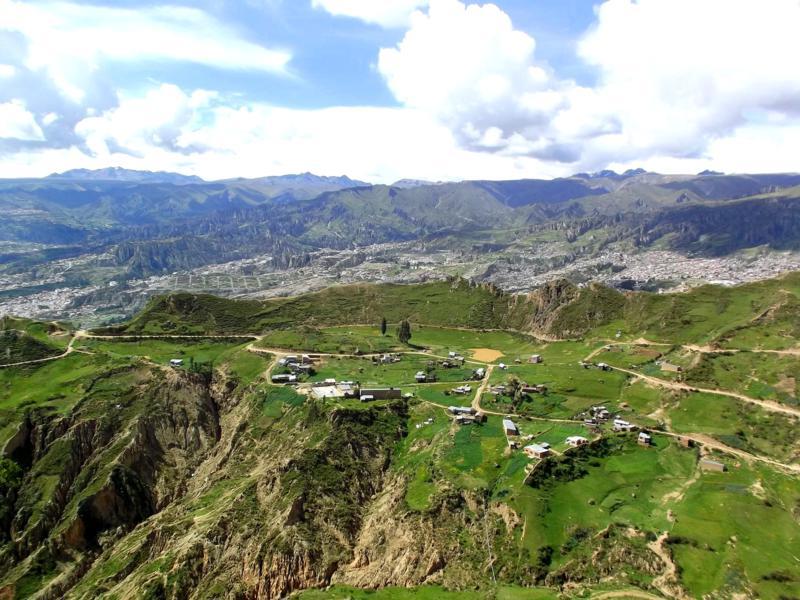 Der Muela del Diablo, eine der tollen Wandertouren in der Umgebung von La Paz