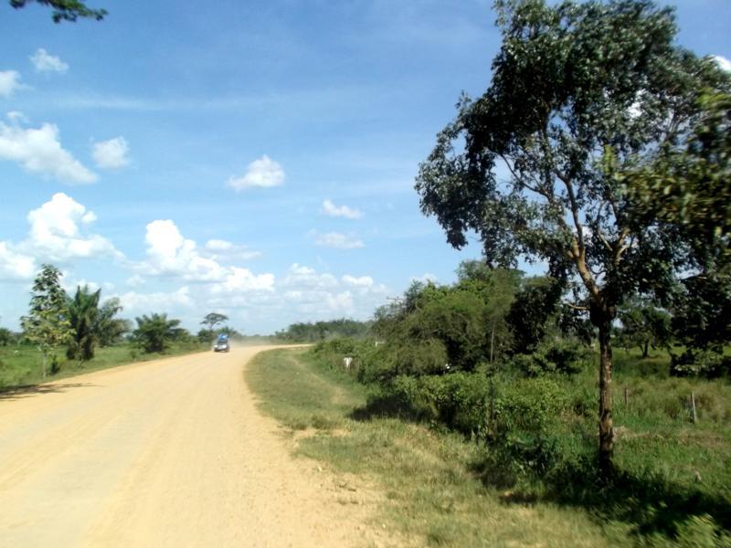 Die Straße von Rurrenabaque nach San Borja