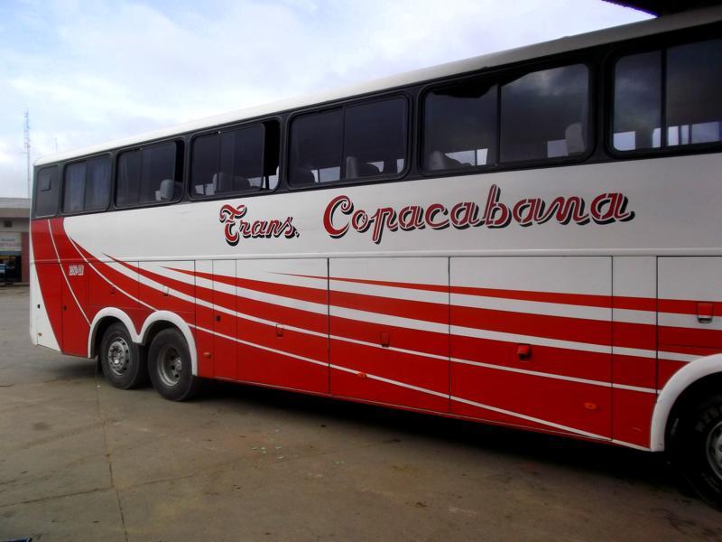 Wieder einmal ein Nachtbus, diesmal von Trinidad nach Santa Cruz de la Sierra