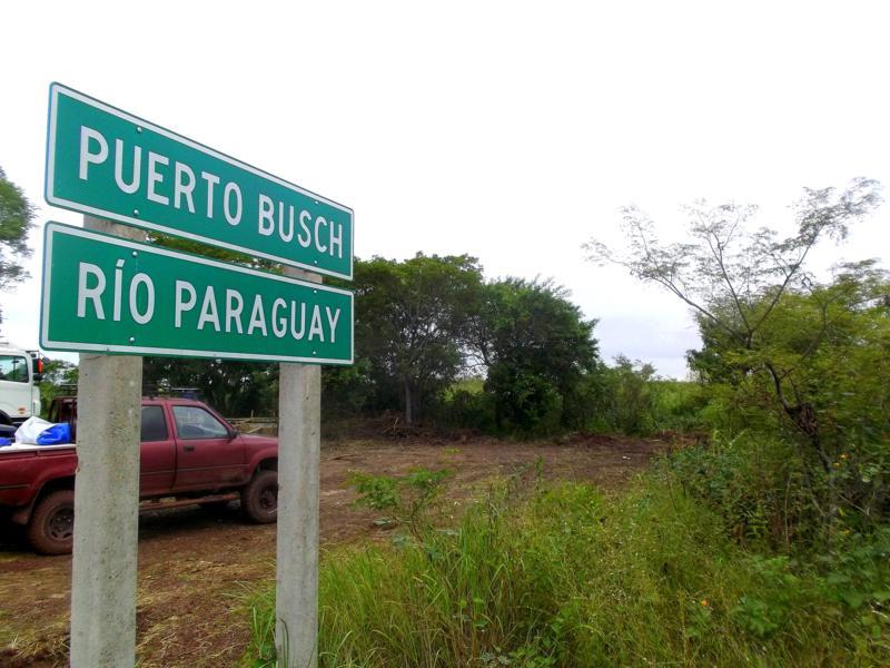 Puerto Busch, wohl das Ende von Bolivien