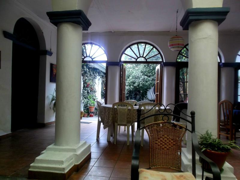 Das Hostel Casa Blanca in Tarija im Süden von Bolivien
