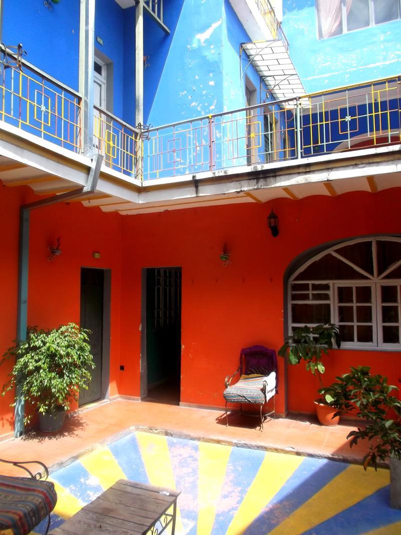 Das Amigos Hostel in Sucre, der offiziellen Hauptstadt von Bolivien