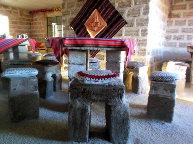 Das Hotel de Sal in der Salzwüste von Uyuni