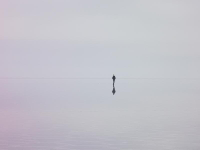 Die überflutete Salzwüste - die typischen Spezialeffekte der Salar de Uyuni
