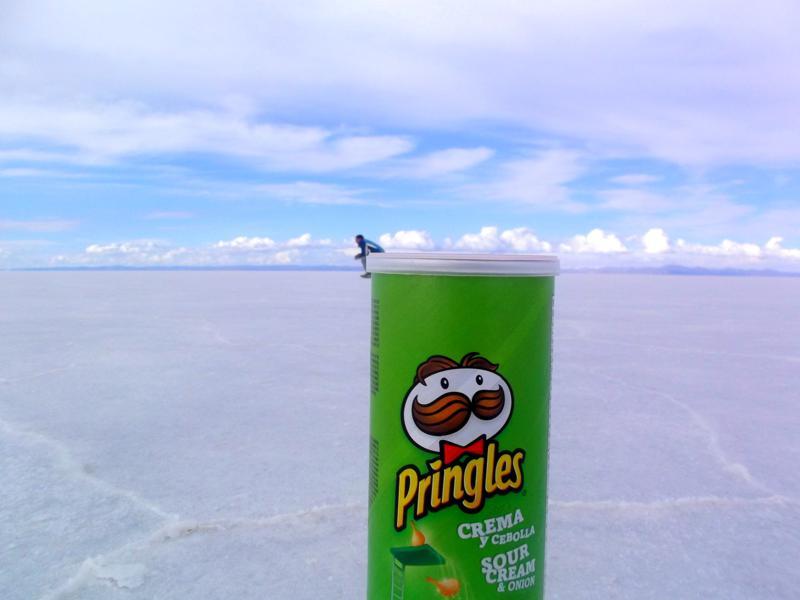 Die spektakuläre Salzwüste - die typischen Spezialeffekte der Salar de Uyuni